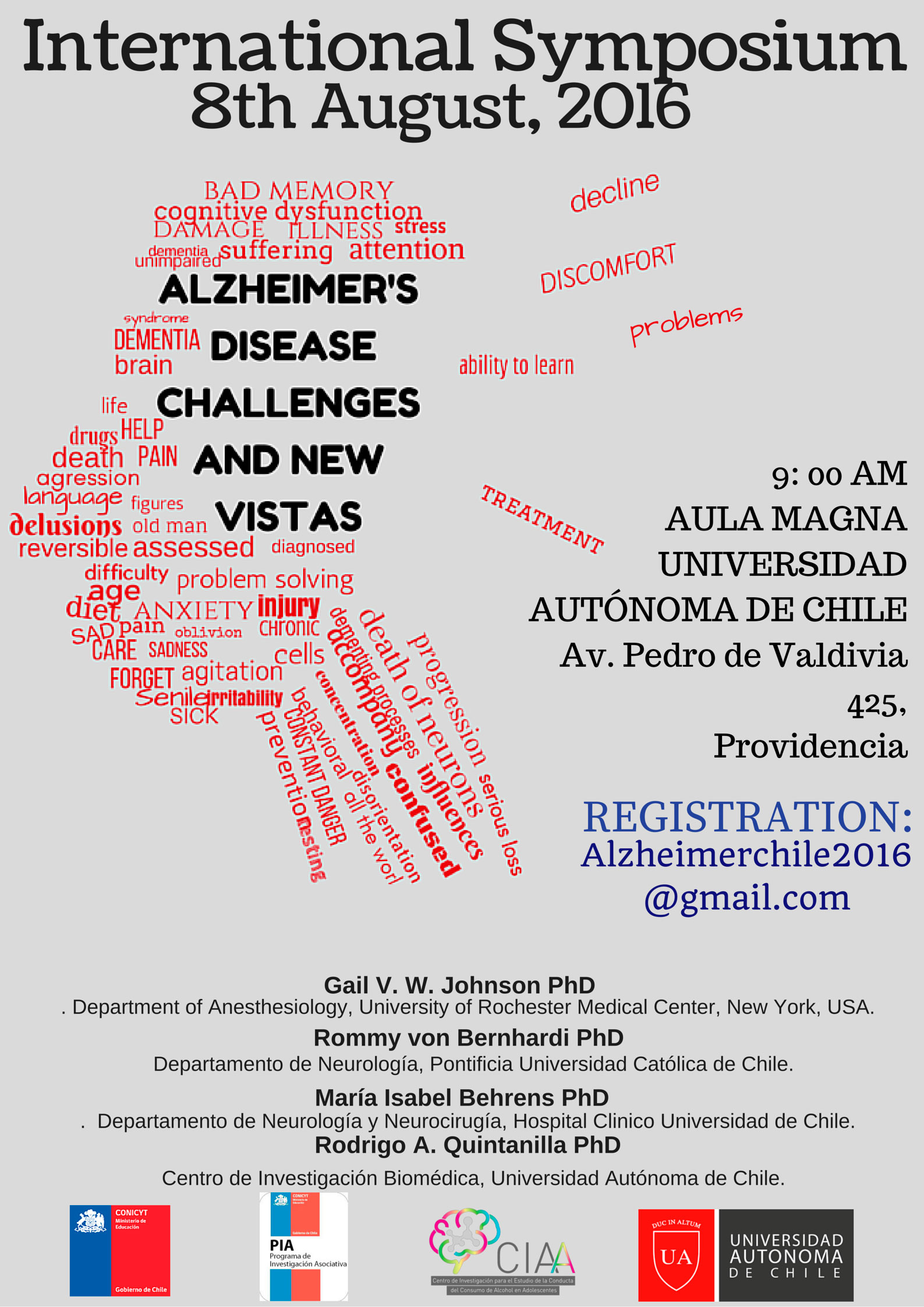 International Symposium AD Poster 2016